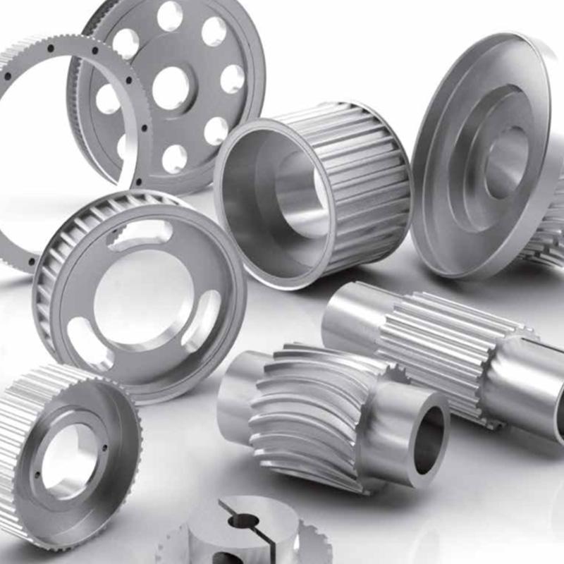 Tandremshjul - Tandremshjul i rustfri stål og aluminimum.