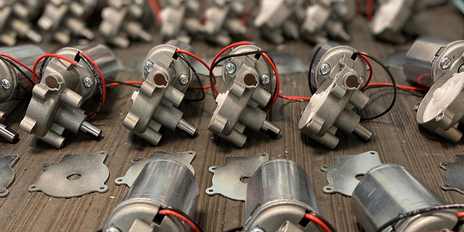 24V DC gearmotorer