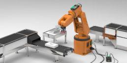 Sugekopper, vakuumpumper og gribere til robot, proces- og pakkemaskiner.