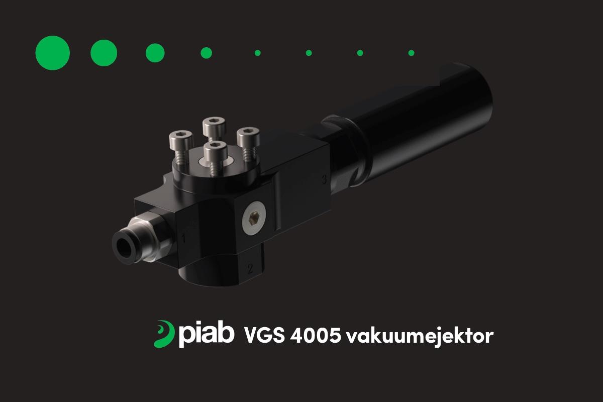 Piab VGS 4005 vakuumejektor