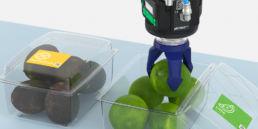 Kosteffektive robotgribere til fødevarerindustrien
