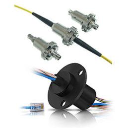 Slæberinge til overførsel af el, data og optiske signaler.