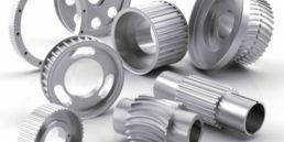 Tandremshjul i rustfri stål og aluminimum